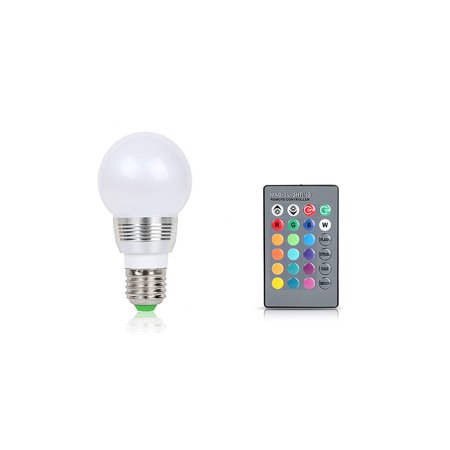 Gpct 16 Color Changing Remote Control Led Light Bulb 3 Pack