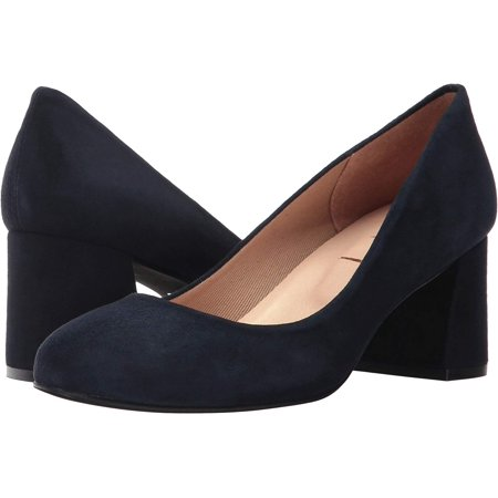 - French Sole Trance Women's Navy Flat 8M