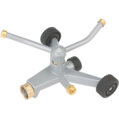 Gilmour WS45OS 3-Arm Metal Square Pattern Rotary Sprinkler