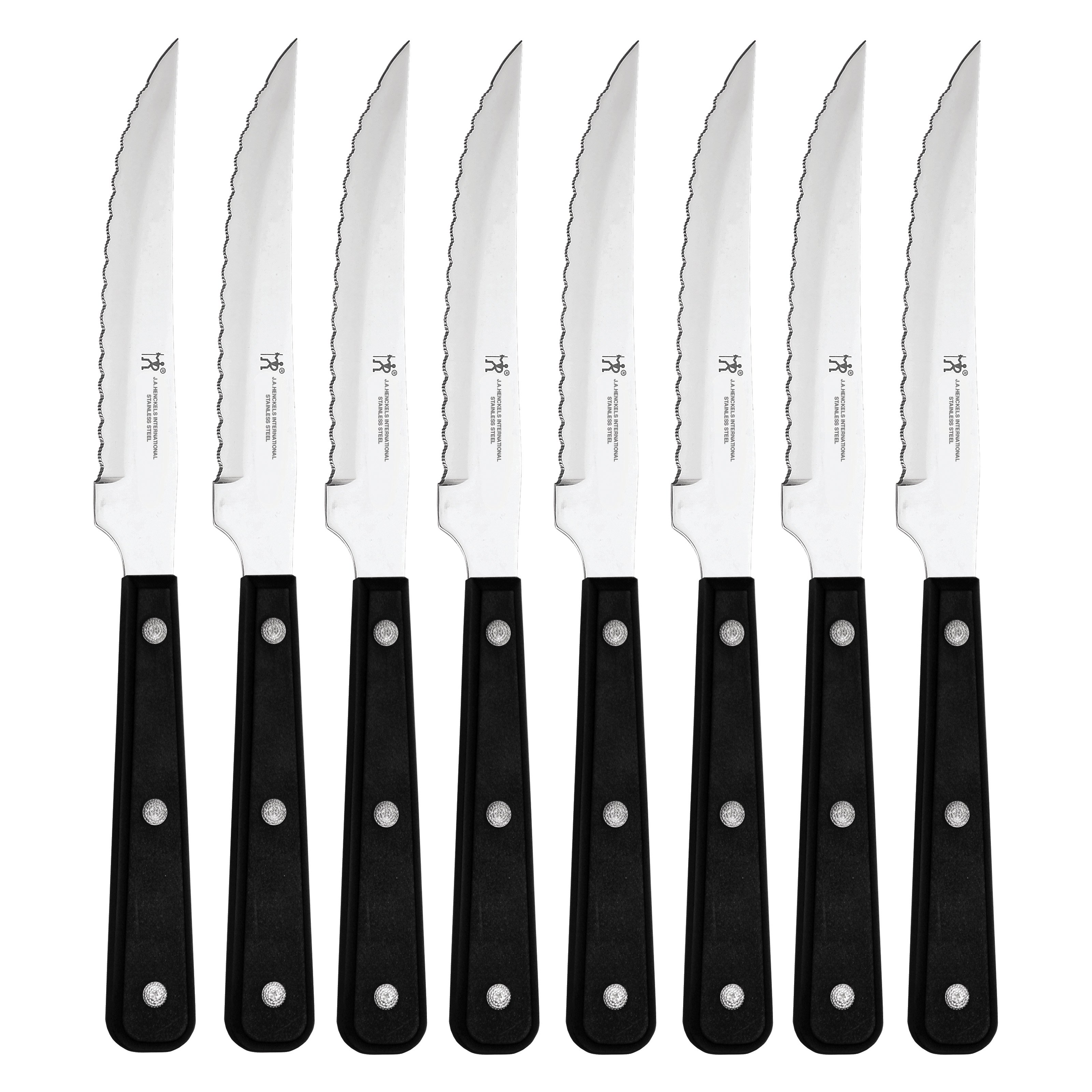 J.A. Henckels International 8-pc Serrated Steak Knife Set
