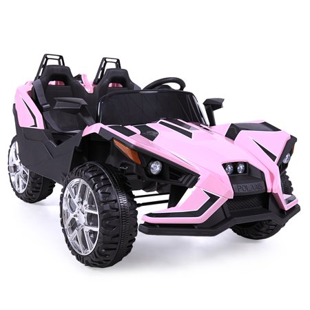 Electric Vehicles For Kids >> Uenjoy Kids Ride On Cars 12v Electric Motorized Vehicles Large Truck With Remote Control 2 Speed Pink
