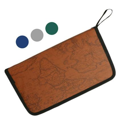 80 Sleeve Portable CD DVD Disc Carry Case Holder Bag Wallet Storage Ring Binder