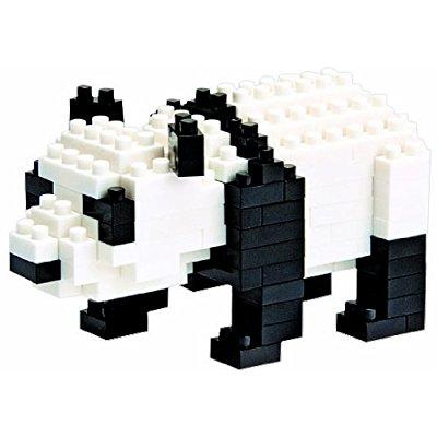 Nanoblock giant panda with over 150 pieces by