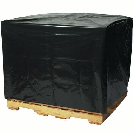 Box Partners Pallet Covers,3 Mil,48x42x48, Blk,50/CS - BXP PC164