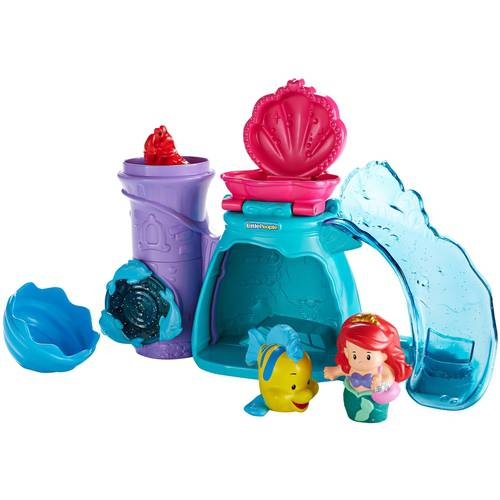 Fisher-Price Little People Disney Princess Bath Ariel's Splashin' Grotto