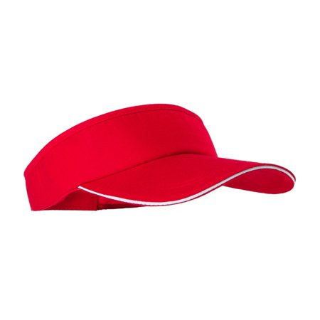 Visor Solid Cotton Cap Women Men Hat Golf Tennis Cap Without Top Scotty Golf Visor
