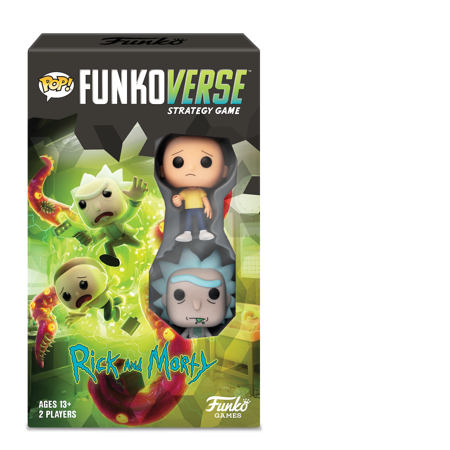 Funko Games POP! Funkoverse - Rick and Morty 100 - 2-Pack