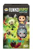 Funko Games POP! Funkoverse - Rick and Morty - 2 Character Expandalone