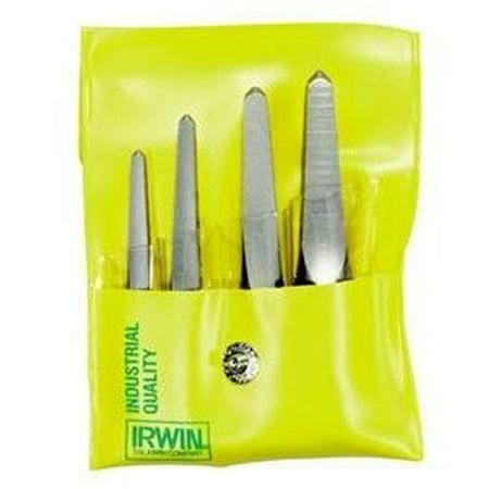 Hanson Irwin HA53635 5 Pieces Straight Flute Screw Extractor Set Carded (1-5)