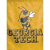"Georgia Tech Yellow Jackets Garden Flag NCAA Licensed 11"" x 15"""