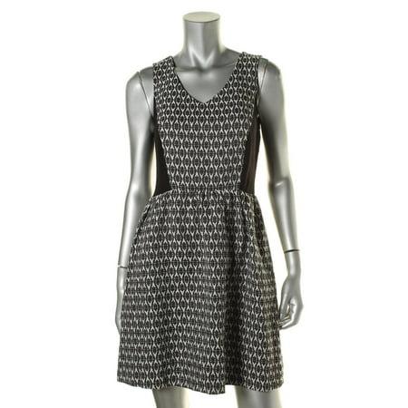 Kensie Womens Knit Pattern Casual Dress - Walmart.com