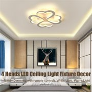 """Modern LED Acrylic Ceiling Light Pendant Lamp Chandeliers Fixture Living Room Dining Room Kitchen Home Decor 23.62"""" in diameter"""