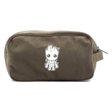 Baby Groot Guardians of the Galaxy Canvas Shower Kit Travel Toiletry Bag
