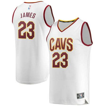 lebron james cavaliers jersey white