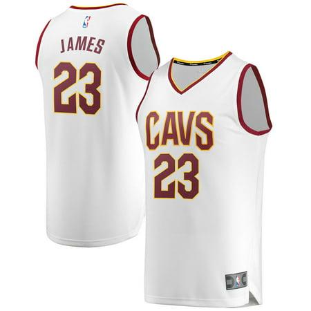 lebron james cavaliers jersey white