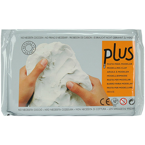Plus Natural Self Hardening Clay, 2.2 lbs