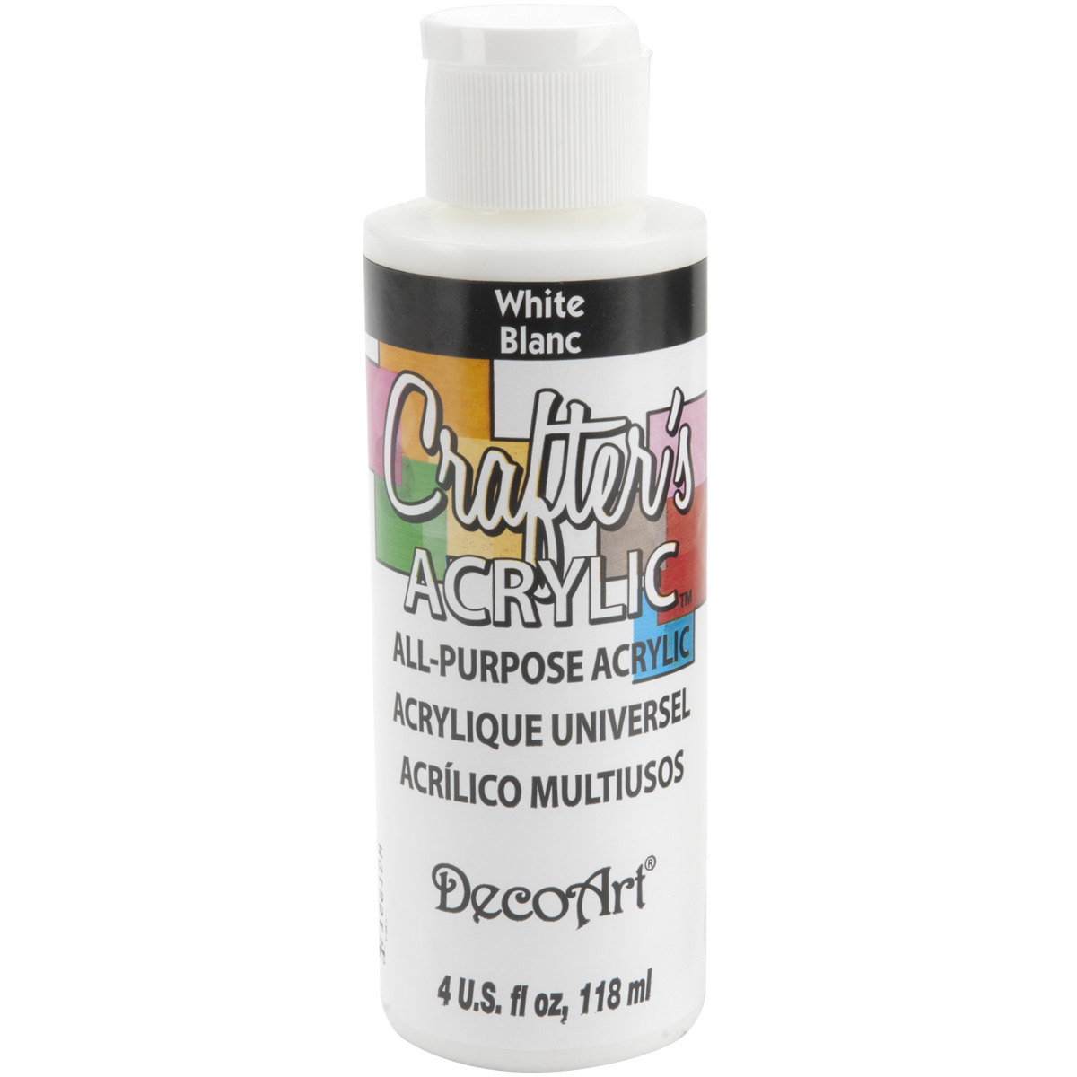 Crafter's Acrylic All Purpose Paint 4oz-White