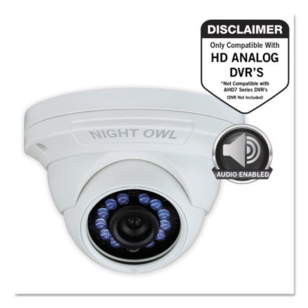 how to add audio to security camera