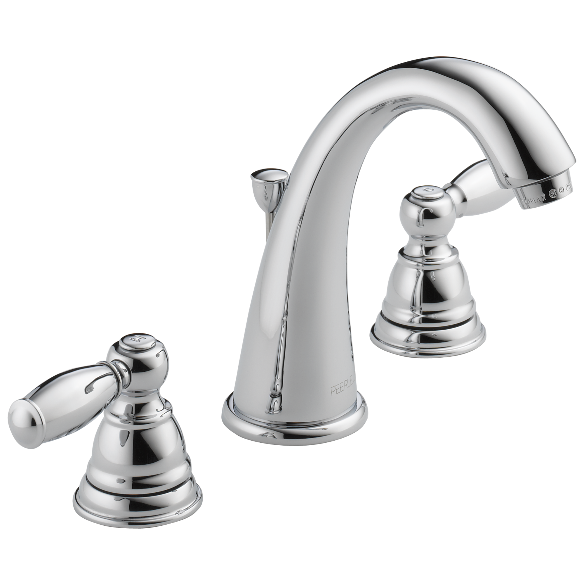 Peerless Claymore Two Handle Bathroom Faucet In Chrome P299196lf Walmart Com Walmart Com