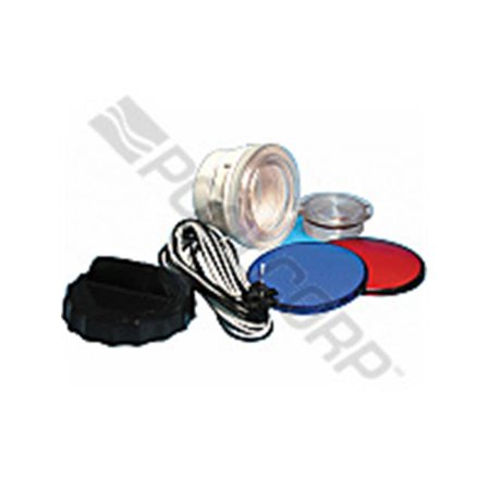 Waterway Plastics 630-6105 8 ft. OEM Front Access Light Lens Kit - 3.5 in. Face, 2.62 in. Hole