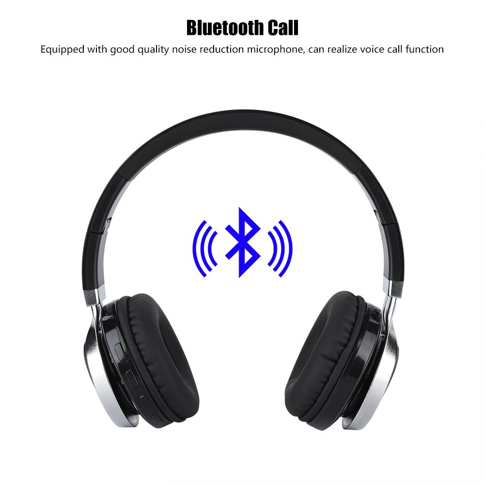 Sonew Folded Wireless Wired Sports Bluetooth Headset Stereo Noise Cancelling Built In Radio Noise Cancelling Stereo Earphone Folded Wireless Bluetooth Headphone Walmart Canada