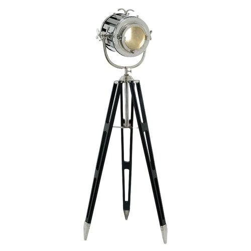 Grey Mingle Metal Tripod Floor Lamp: Cole & Grey Spot 72'' Tripod Floor Lamp