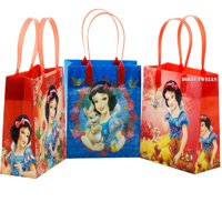 "Disney Princess Snow White 12 Reusable Small Goodie Bags 6"""