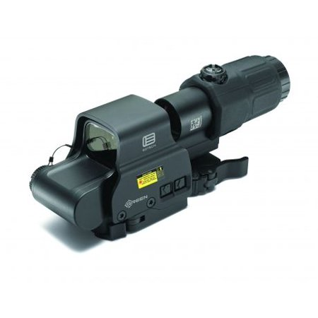 EOTech Holographic Hybrid Sight II 68 MOA Circle with (2) 1 MOA Dots Reticle, (Best Eotech Holographic Sight)