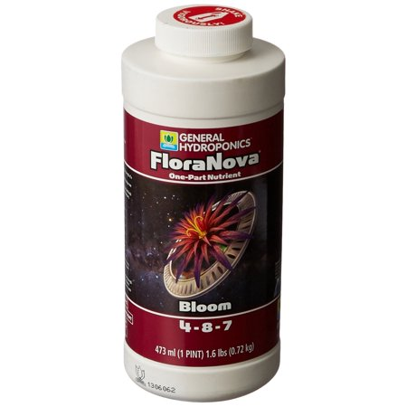 GH1631 1 Pint Flora Nova BloomOptimum nutrient absorption from natural humic extracts By General