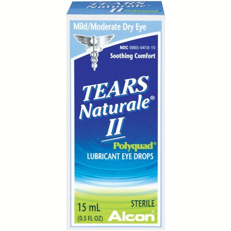 Alcon Natural Tears Eye Drops