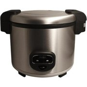 Cool Touch Commercial Rice Cooker 60-cup Stainless Steel ETL Sanitation Listed for Commercial Use