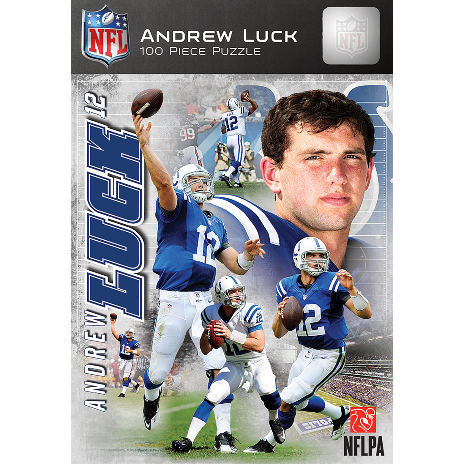 Andrew Luck Indianapolis Colts 100-Piece Player Puzzle - No Size