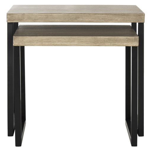 Williston Forge Abrianna 2 Piece Nesting Tables