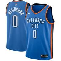 Russell Westbrook Oklahoma City Thunder Nike Swingman Jersey Blue - Icon Edition