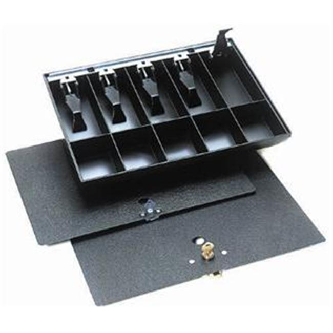 MMF 2252862PK04 Replacement Cash Tray Large Pack Lock -  Black