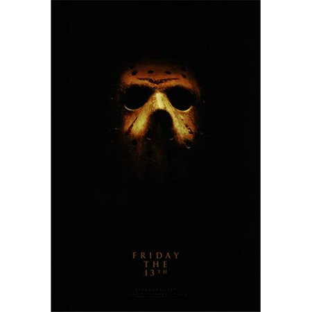 Posterazzi MOV418669 Friday the 13th C.2009 - Style B Movie Poster - 11 x 17 in. - image 1 of 1