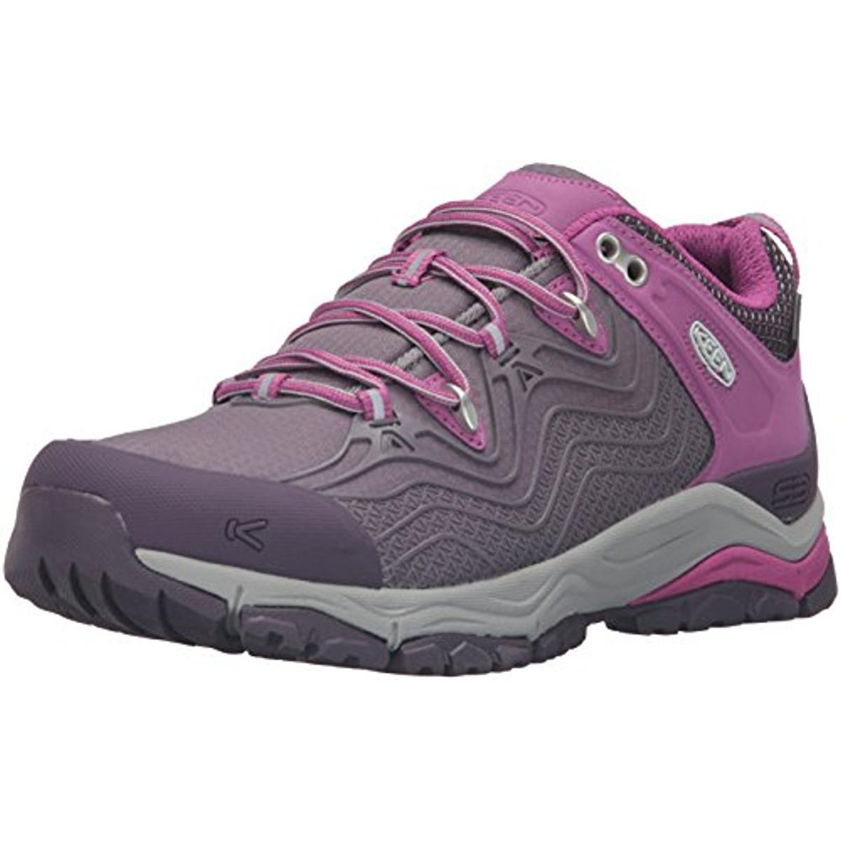 Keen Womens Aphlex Waterproof Colorblock Hiking, Trail Shoes