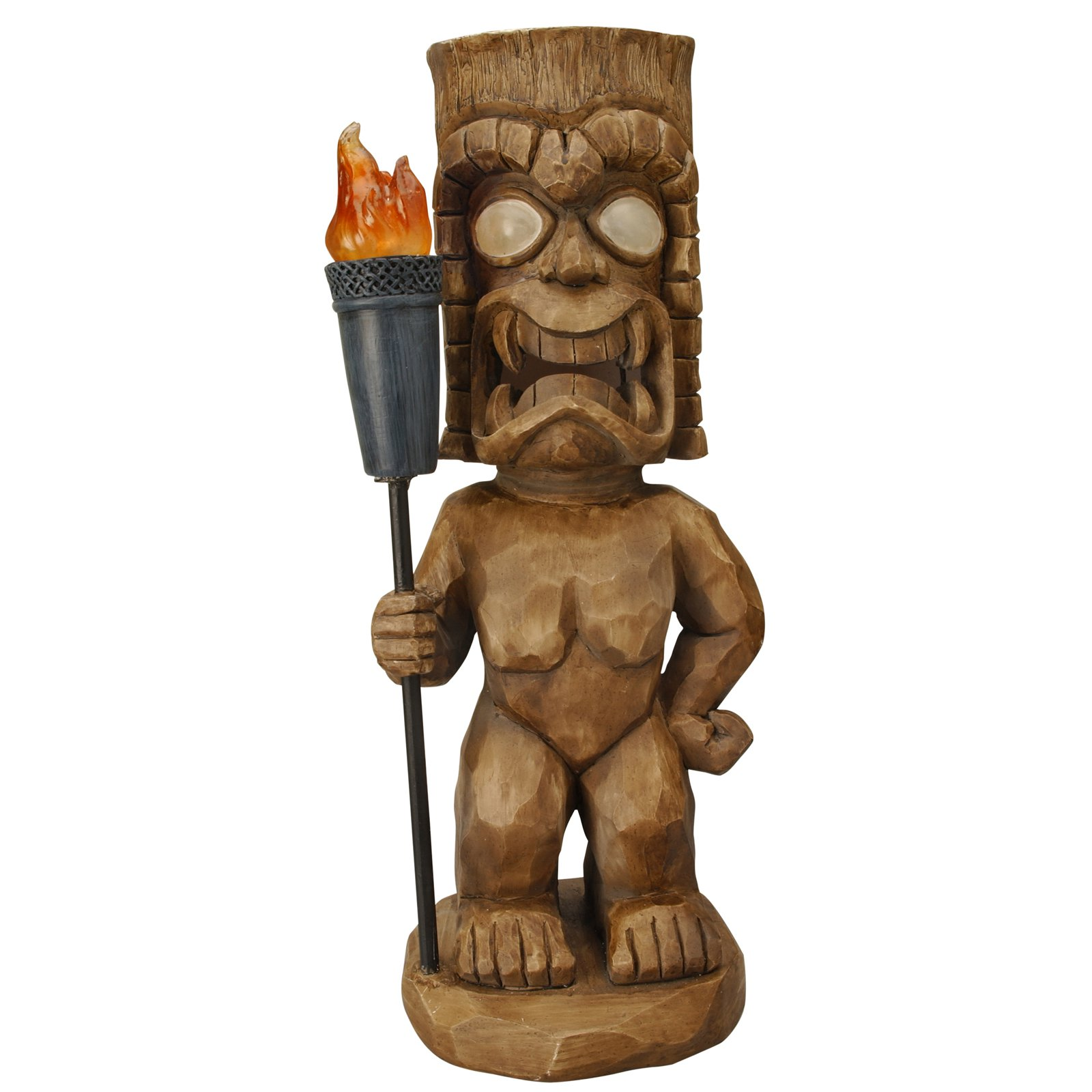 Moonrays Island Warrior Solar Light