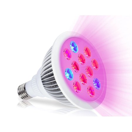 Oak Leaf 24w Led Plant Grow Light Plant Bulb High