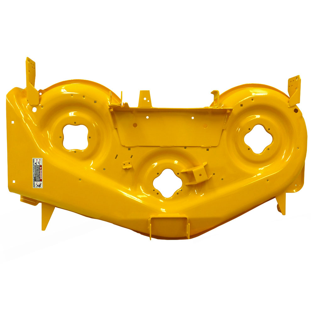 """Cub Cadet 50"""" Deck Shell Replacement (Yellow, RZT) for Lawn Mowers & Others   903-04328C-0716 by Cub Cadet"""