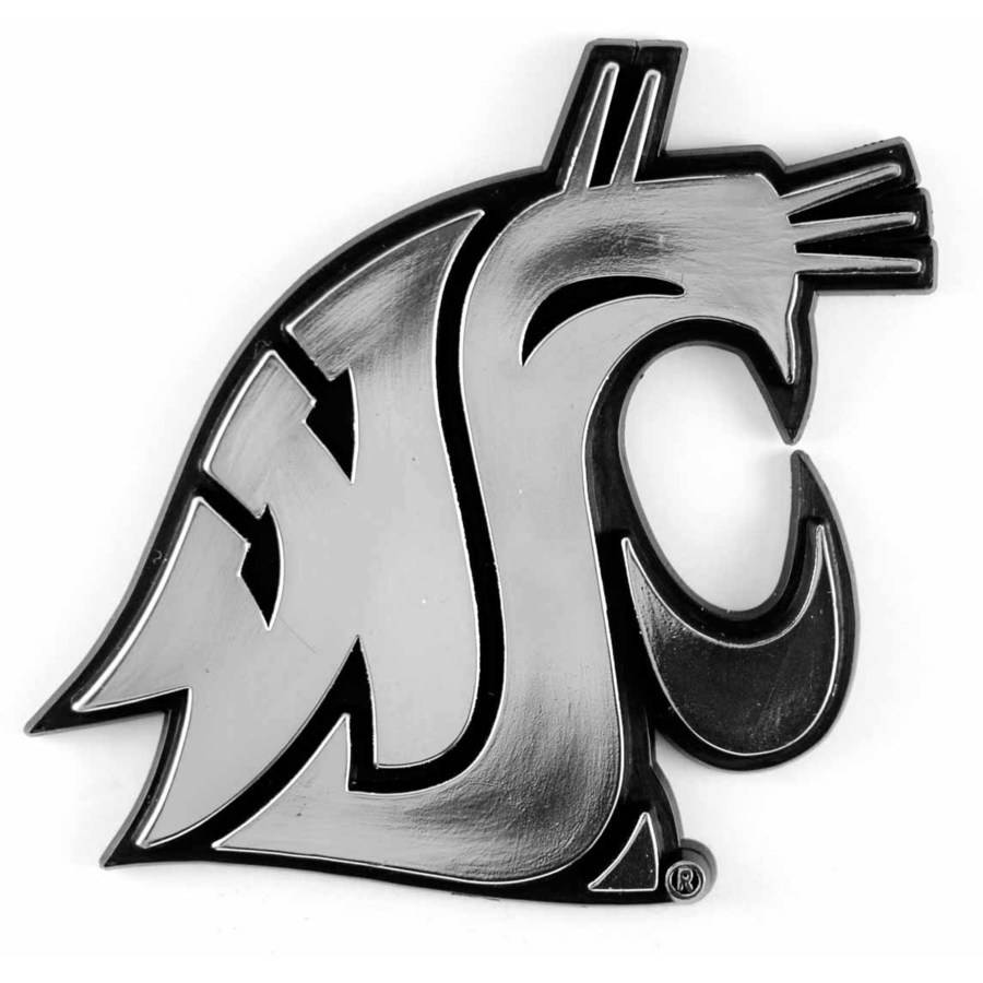 NCAA Washington State Chrome Emblem