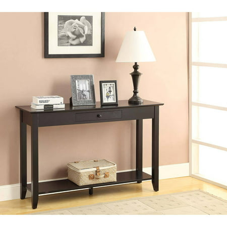Convenience Concepts American Heritage Console Table, Multiple Finishes (American Heritage Hall Table)