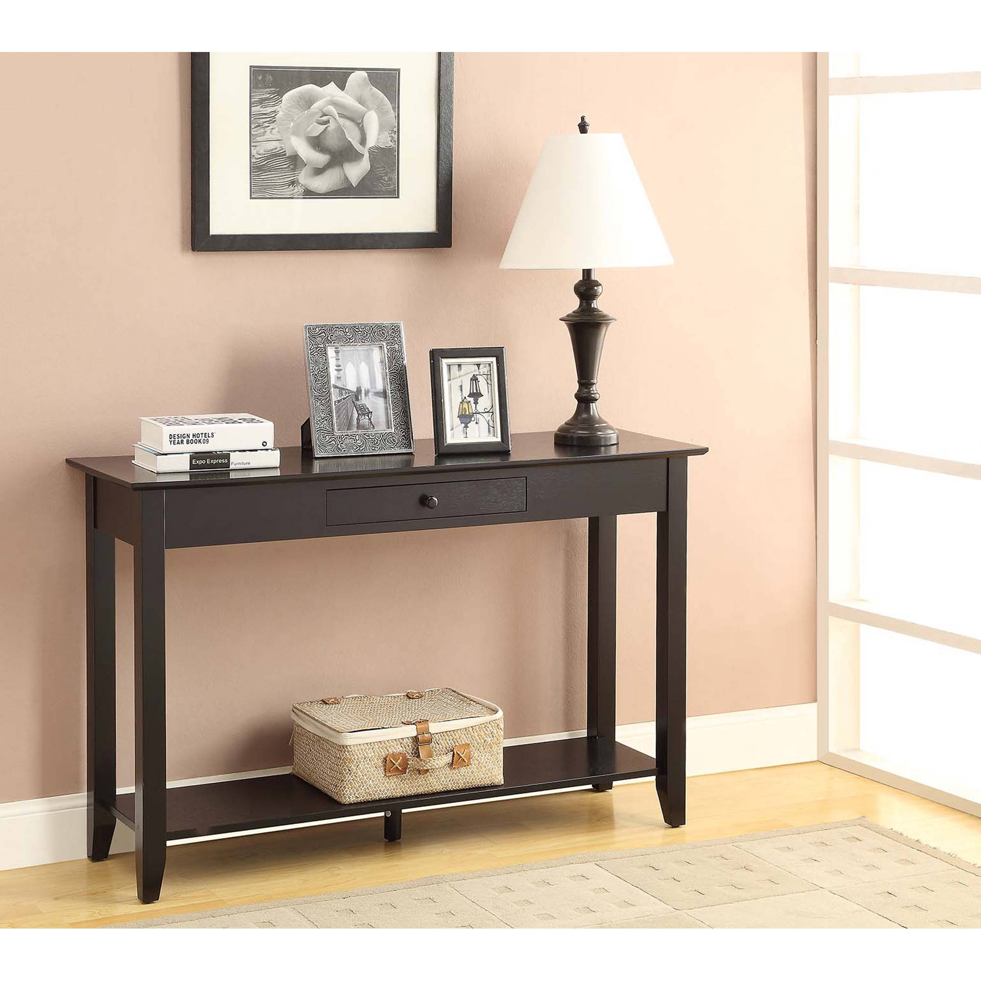 Convenience Concepts American Heritage Console Table, Multiple Finishes