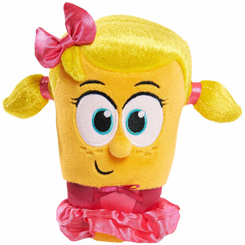 Dream works Veggie Tales Bean Plush, Laura by Just Play