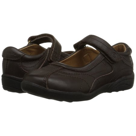 Stride Rite Claire Big Girl's Brown Uniform Flats