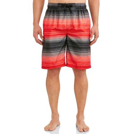 Kanu Surf Men's Haywire Print Long Trunk Swimsuit ()