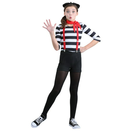 Girl's Mime Costume](Adult Mike Costume)