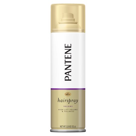 Pantene Pro-V Volume High Lift & Fullness Hairspray for Volume, Body and Fullness, 11 oz - Nerd Makeup And Hair For Halloween