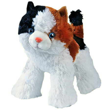 Record Your Own Plush 16 inch Calico the Cat - Ready 2 Love in a Few Easy Steps