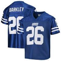 Youth Saquon Barkley Royal New York Giants Replica Jersey